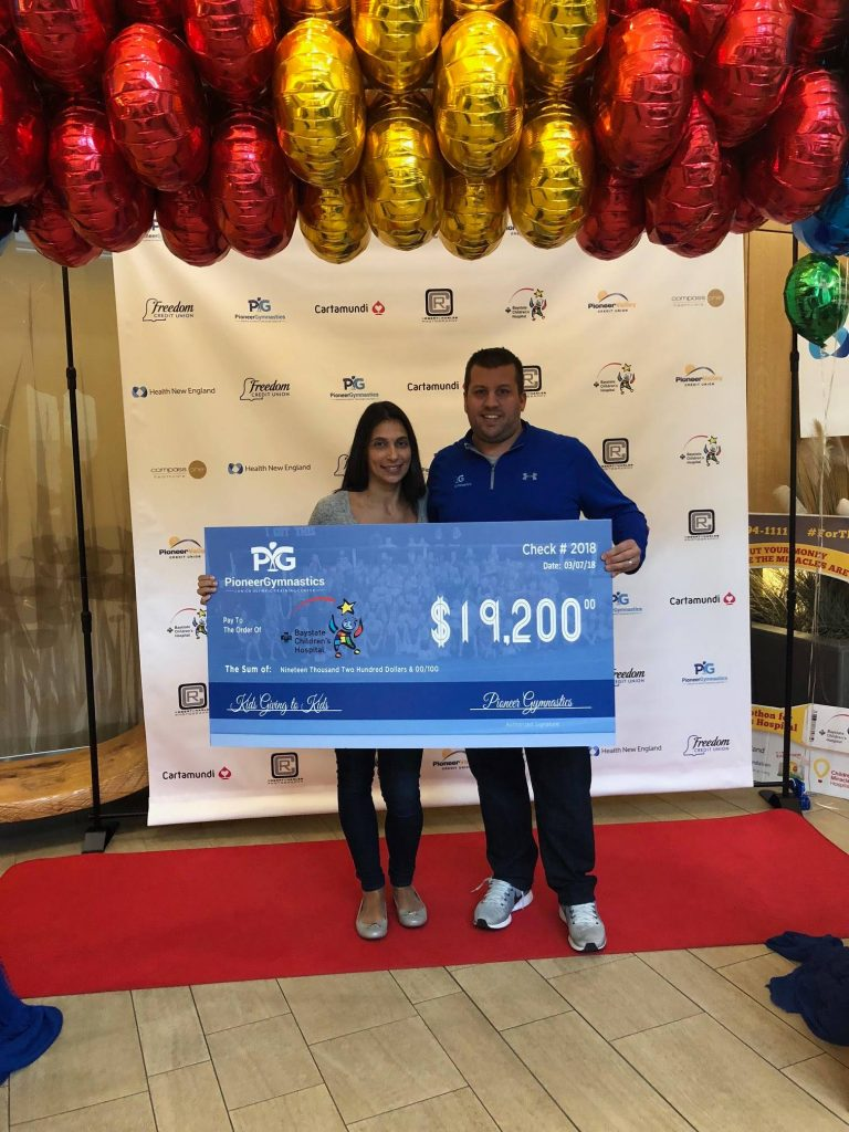 $19,200 Donated to Baystate Childrens Hospital