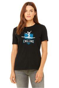 New England Black T-Shirt
